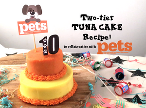 DIY FeedMyPaws Recipe: Tuna Birthday Cake!