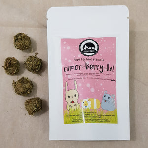 Cinder-berry-lla - freeze dried small animal treats