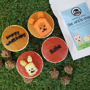Wheek-cake bundle (Guinea pig cupcakes + treats)