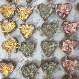 Herb Hearts (All You Can Treat! For bunnies and guinea pigs)