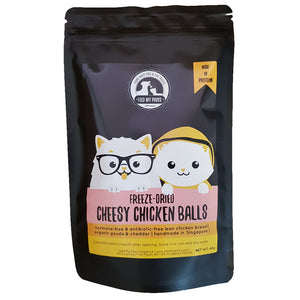 Cheesy Chicken Balls (Freeze-Dried)