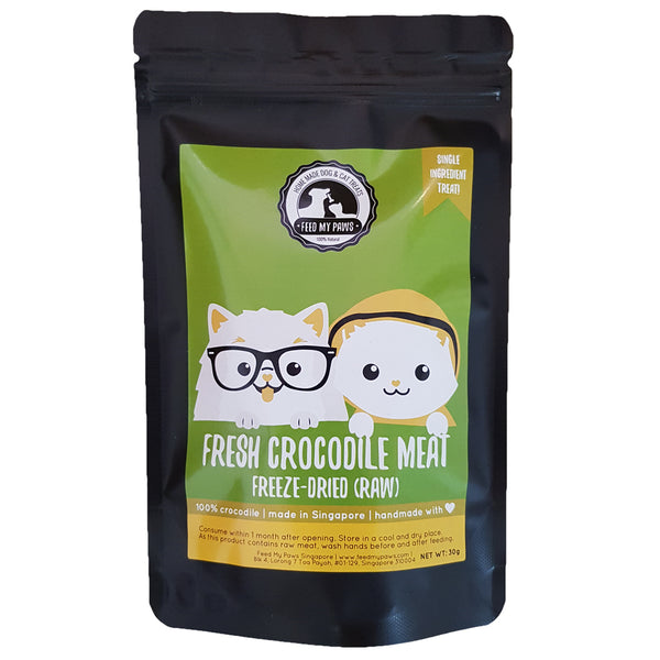 Raw Crocodile (Freeze-Dried)