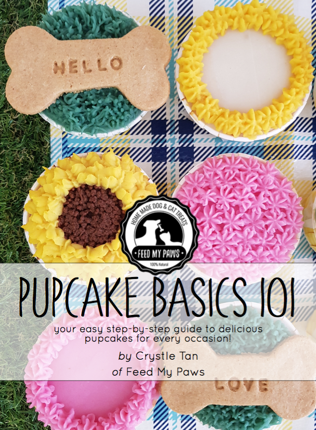 **NEW!!** Feed My Paws Pupcakes Basics 101 E-Book