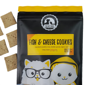 Fish & Cheese Cookies (Grain-free!)