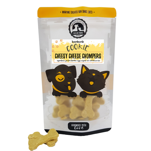 Organic Cheesy Cheese Chompers