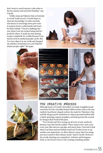 page 2 of Pets Magazine Media Feature with Crystle from Feed My Paws