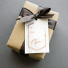 Marble And Copper Foil Gift Tags (Set of 10)