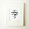 Sweet Life Mint Ice Cream Wall Print