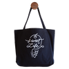 Sweet Life Black Organic Cotton Tote Bag