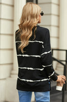 Easy Breezy Black and White Top
