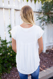 SORELL HENLEY TOP - WHITE