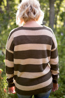 CONNER STRIPED SWEATER