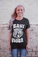 EASY TIGER GRAPHIC TEE - VINTAGE BLACK
