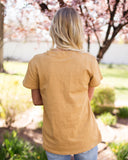 HIKE MORE GRAPHIC TEE - MUSTARD