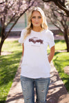 WILD & FREE GRAPHIC TEE - WHITE