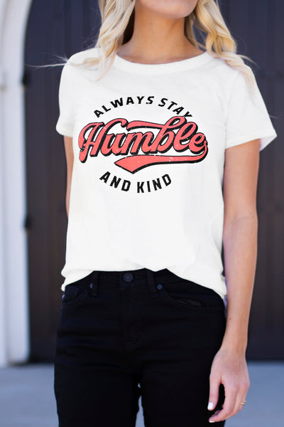 HUMBLE AND KIND GRAPHIC TEE