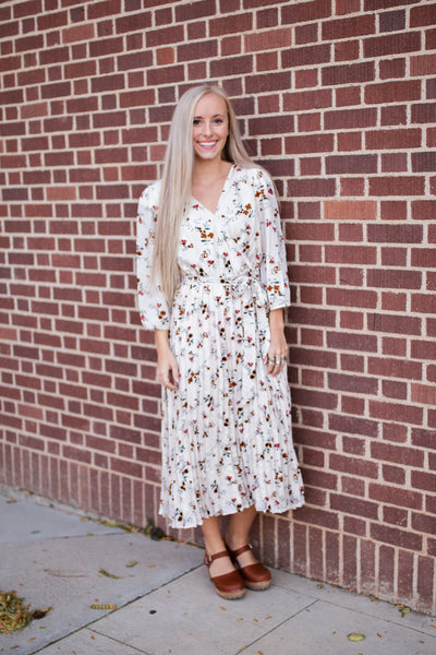 KENTUCKY FLORAL DRESS