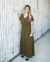 GRACEFUL MAXI - OLIVE