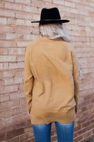 TRENTON SWEATER - CAMEL
