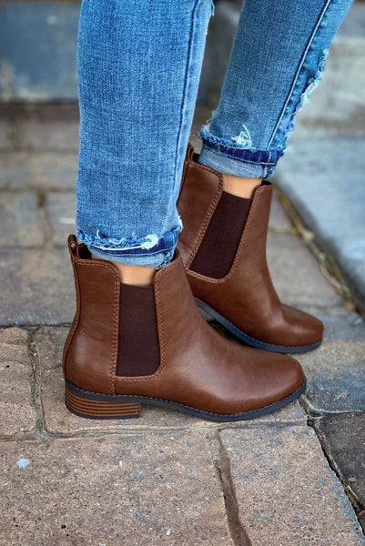 MILLER ANKLE BOOT - TOFFEE