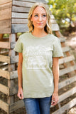 FREEBORN GRAPHIC TEE - SAGE