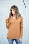 JESSA SOFT SWEATER - MUSTARD