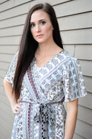 INDIE WRAP MAXI DRESS