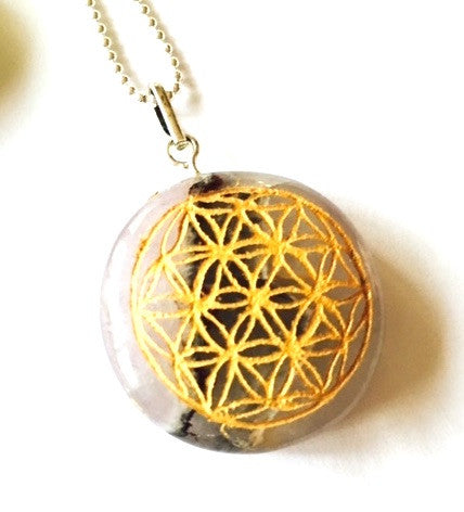 Flower Of Life Amethyst,  - sparklefairy