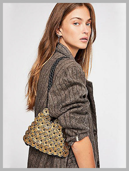 Gallerie Fringe Crossbody