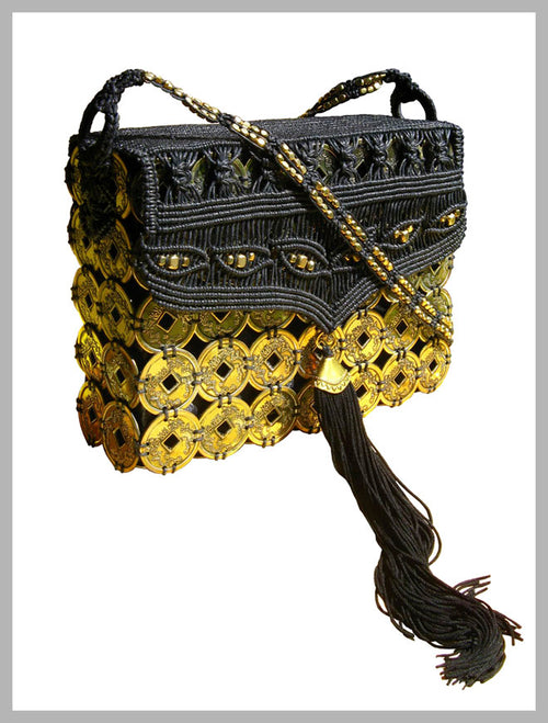 Earth Friendly ~ Lola Macrame Bag