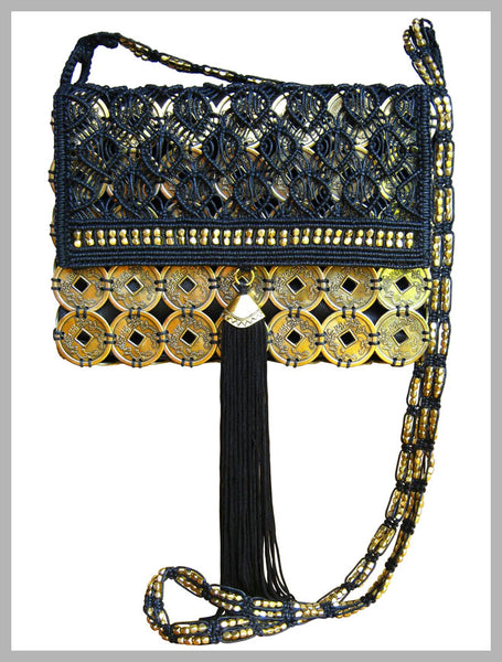 Earth Friendly ~ Natalia Macrame Bag