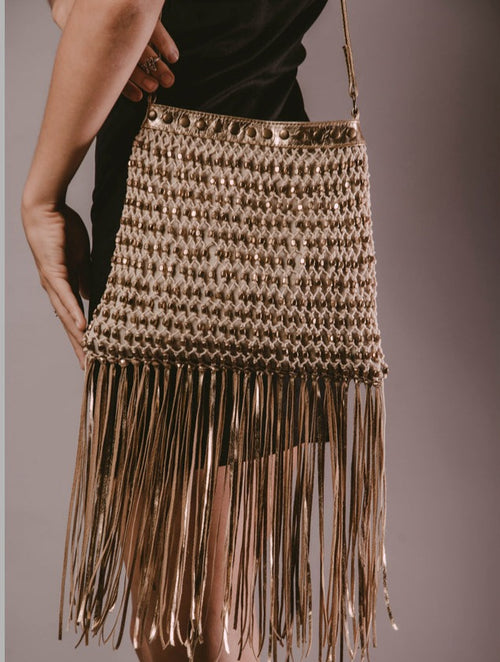 Zelda Leather Fringe