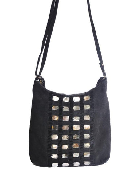 Cosmic Suede Crossbody