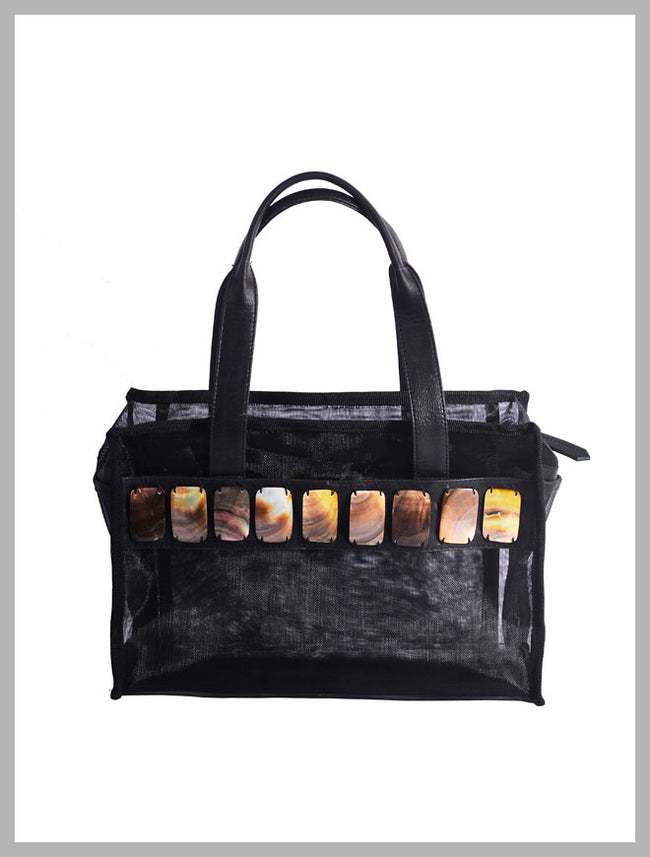 Cosmic Square Mini Beach Tote