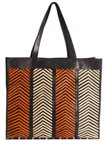 Hampton Abstract Shell Tote