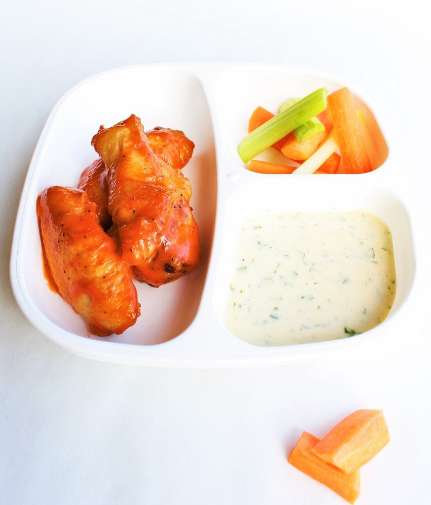 Stage 3 Buffalo Wings + Carrot & Celery Sticks & House Ranch