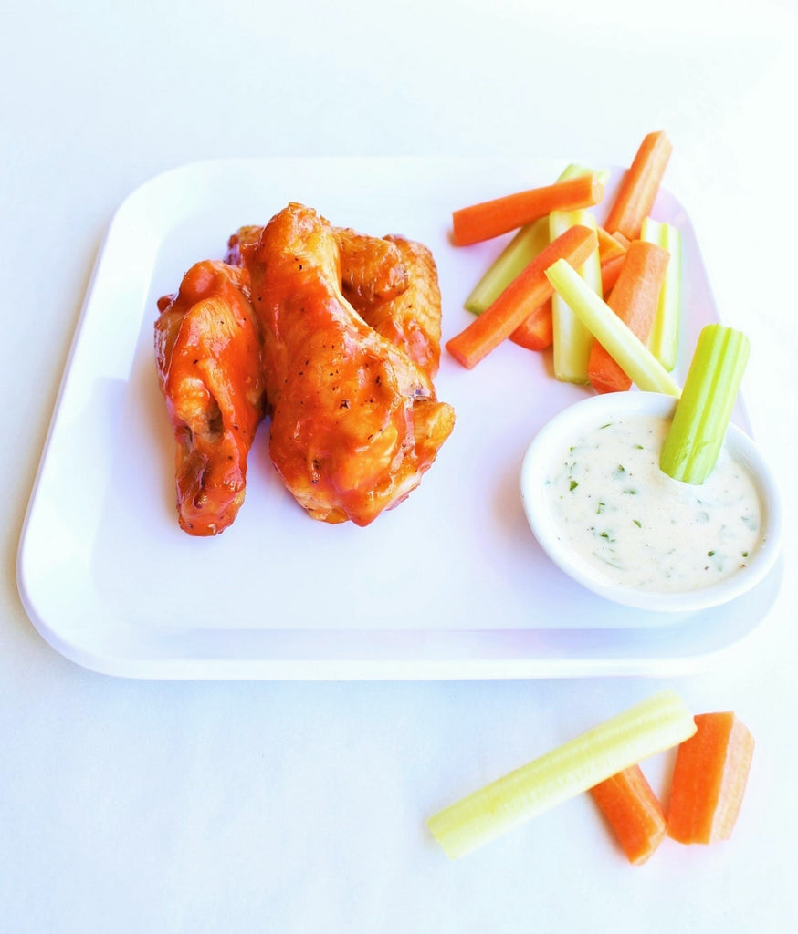 Stage 4 Buffalo Wings + Carrot & Celery Sticks & House Ranch