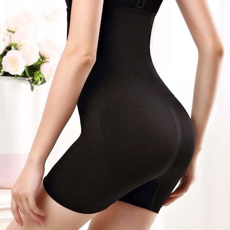 Black 3D High Waisted Shaper Shorts ACSP Shop - Shapewear
