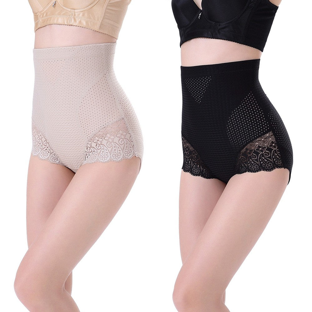 Shapewear - 3D High Waisted Shaper Lace Brief ACSP Shop