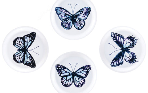 Blue Butterfly Coasters