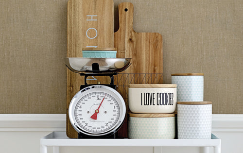 KITCHEN STORAGE CANISTER - I LOVE COOKIES