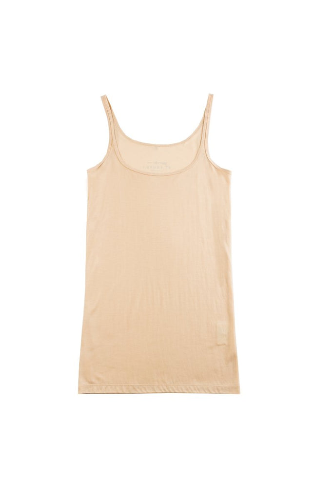 ANNA Luxury Singlet in Nude