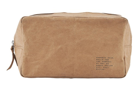 Small Nomadic Toiletry Bag - Light Brown