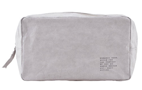 Small Nomadic Toiletry Bag - Grey