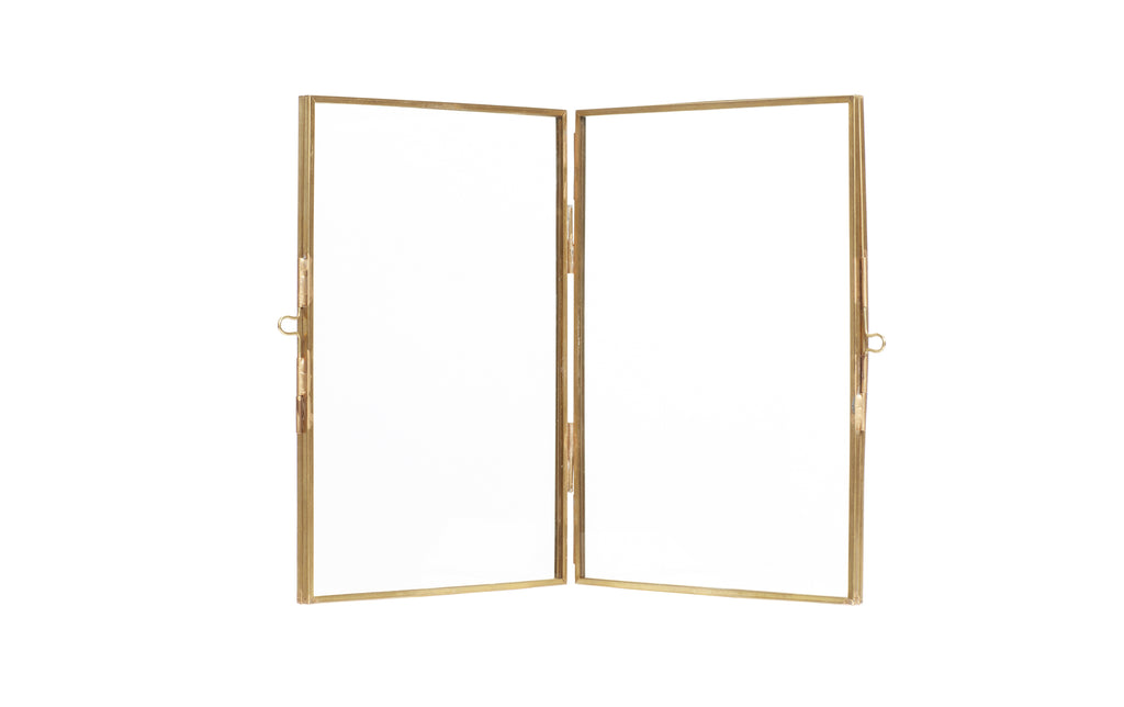 Brass Double Frame