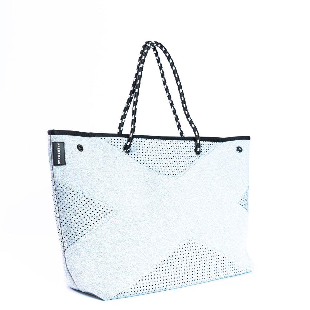 The X Prene Bag - Light Grey with Black interior