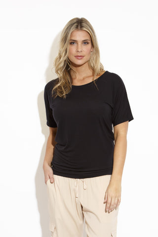 TALLULAH Luxury T in Black