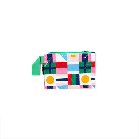 Mini Zip Pouch - Flags