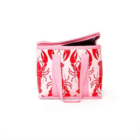 Mini Insulated Tote - Lobster
