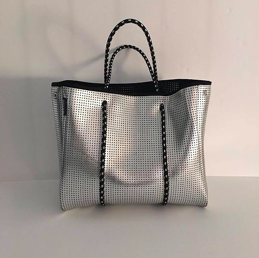 Metallic Silver Bag